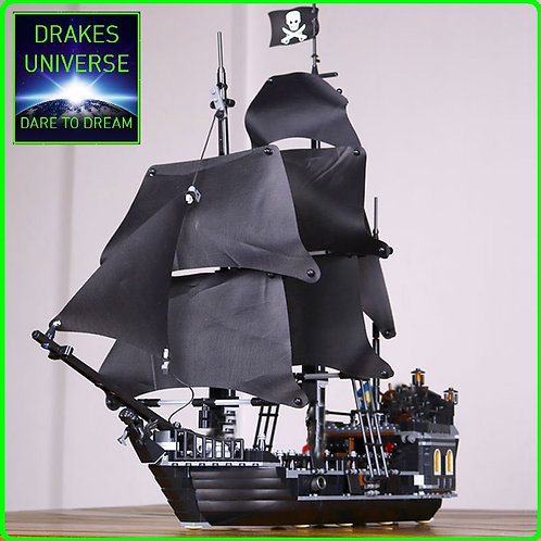Pirate Series The Black Pearl Model Kit 804 Pieces