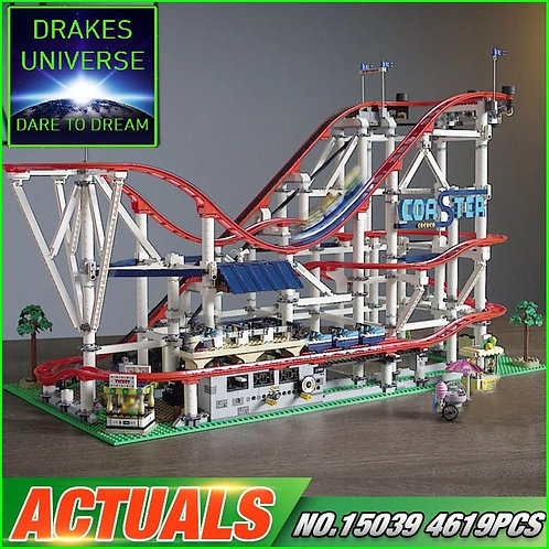 Creative Series City Rollercoaster 4619 Pieces