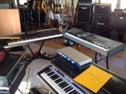 Keys setup for DG