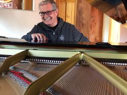 Don Grusin at the keys