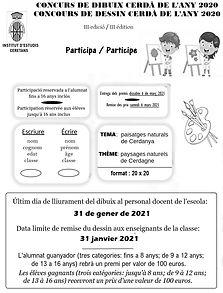 cartell concurs dibuix nens catala-franc