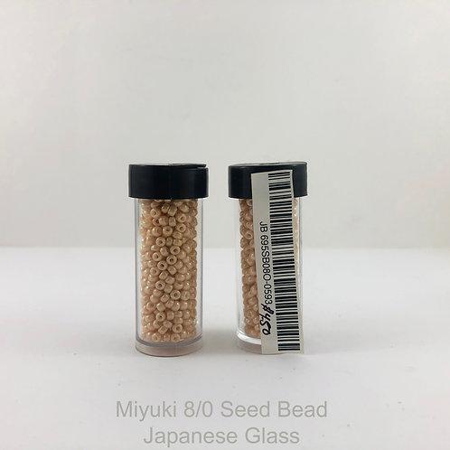 8/0 Miyuki  Beige JB_695SB08-0593