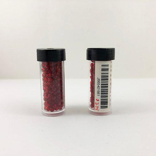 6/0 Pony Beads Transparent Light Red JB65401661