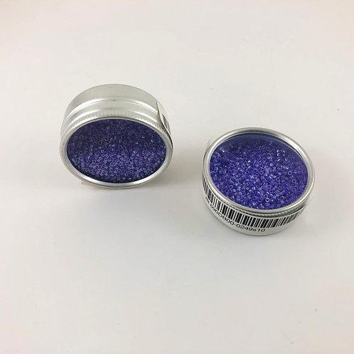 Miyuki Delica 11/0 Crystal Purple Celon JB 690DB00-0249s10