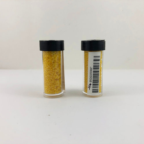 10/0 Transparent Lemon Yellow Matte AB JB65029358