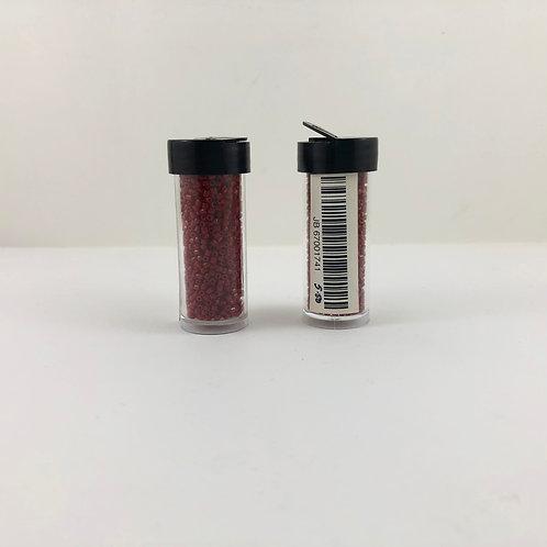 10/0 3-cut beads Opaque Med/Dark Red JB_67001741