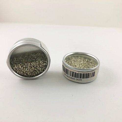 Miyuki Delica 11/0 Galvanized Silver JB 690DB00-0035