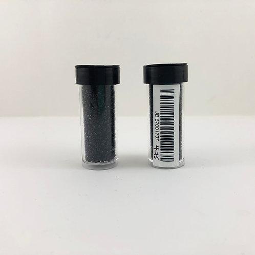3-Cut 10/0 Seed Bead Opaque Black JB_67001737