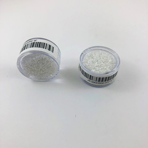 Miyuki Delica 11/0 Pearl White Lustre JB 690DB00-0201s10