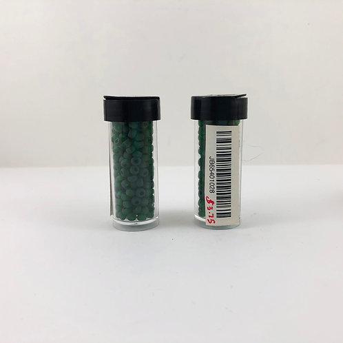 6/0 Pony Bead Transparent Green Matte JB65401028