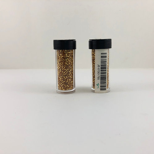 10/0 3-cut Seed Beads S/L (Silver Lined) Gold JB_67001765