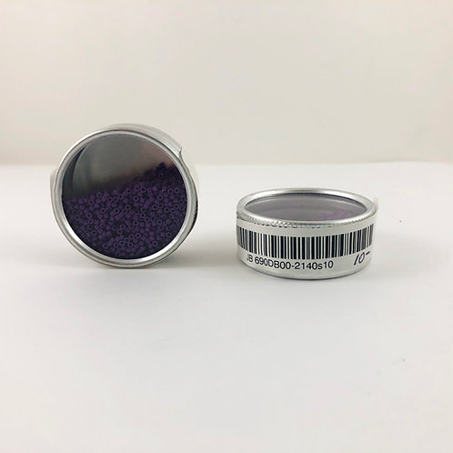 Miyuki Delica 11/0 Duracoat Opaque Dyed Dark Mauve JB 690DB00-2140s10