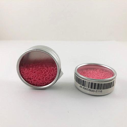 Miyuki Delica 11/0  Duracoat Opaque Dyed Pink Ceylon JB 690DB00-2116
