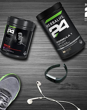 Re-build your muscle after working out with Herbalife24, the best gym supplements and protein powder.