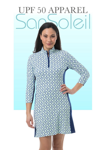 900721C Three Quarter Sleeve Dress.png