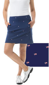 900208P SunGlow 14 Inch Tennis Skirt. Fl