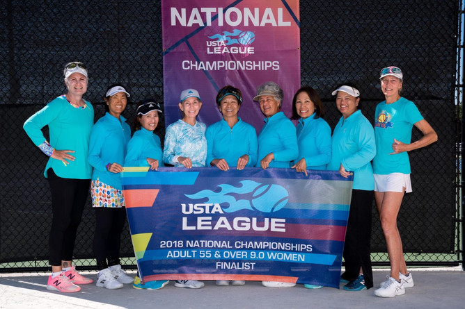 Hawaii USTA National Championship Run