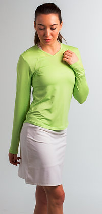 900427 SolTek Crew Neck. Lime