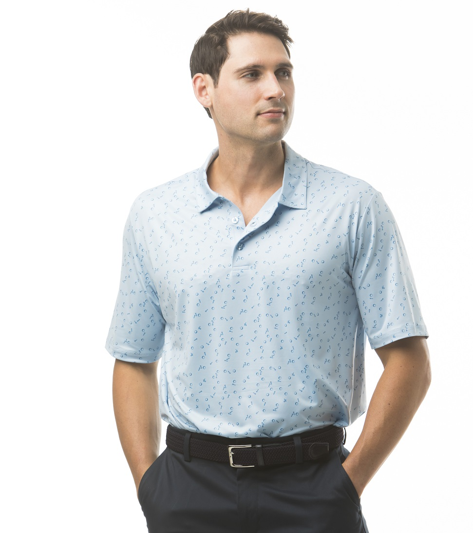 900828 SolCool Men's Short Sleeve Polo