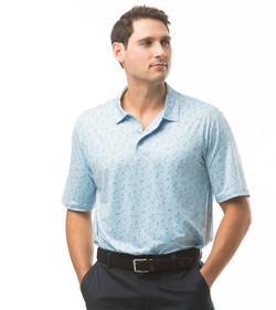900828 SolCool Men's Short Sleeve Polo