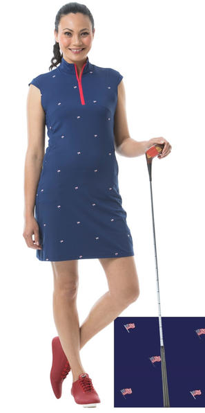 900722C SolCool Sleeveless Dress. Flag D