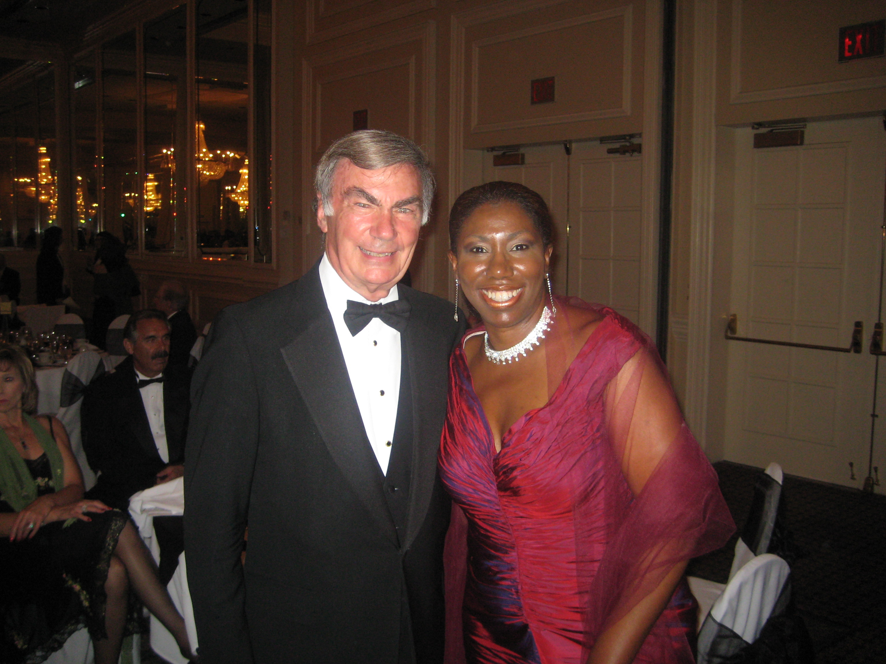 Sam Donaldson at Cedar Rapids Gala