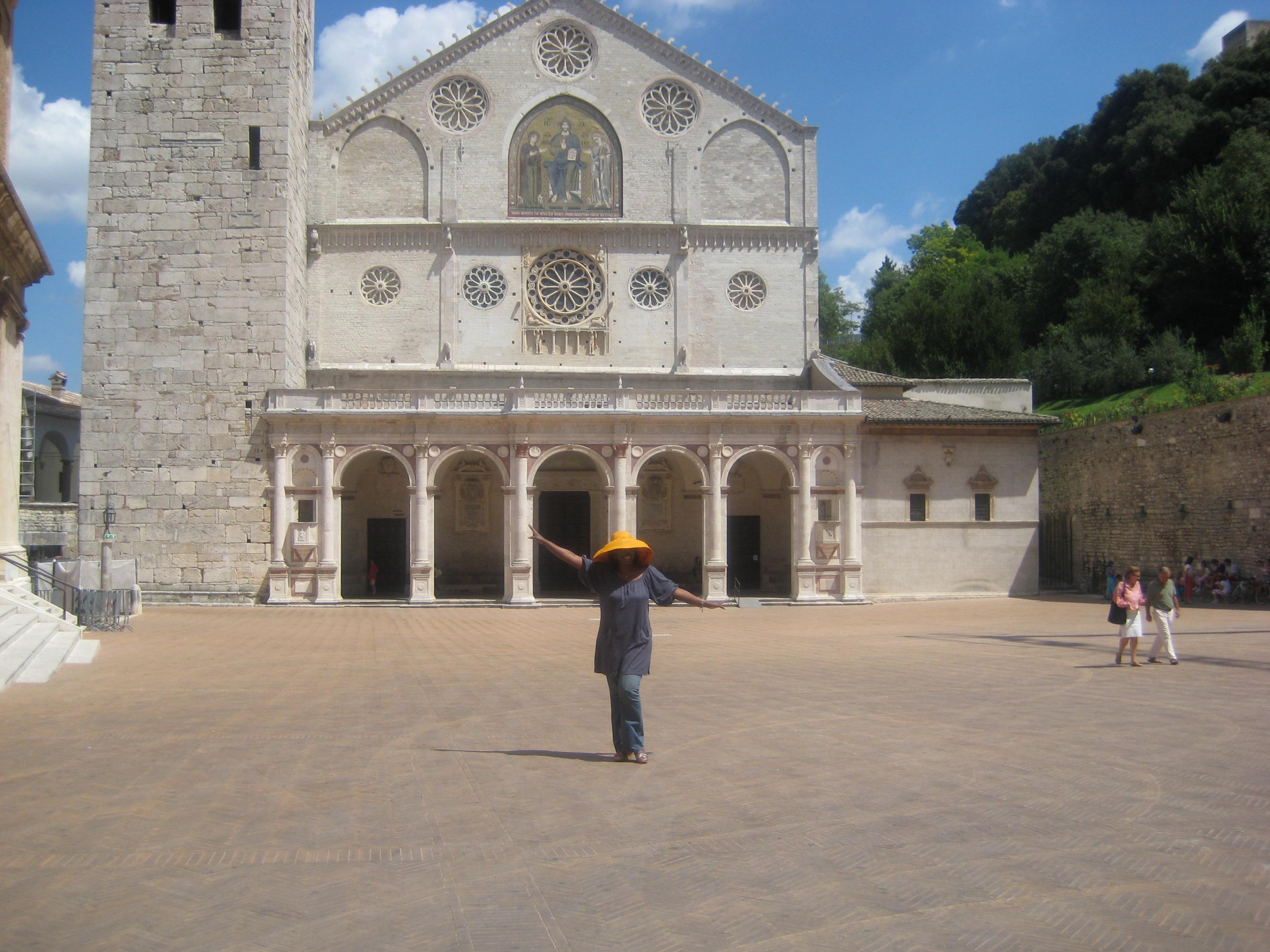 Piazza del Duomo - Spoleto, Italy