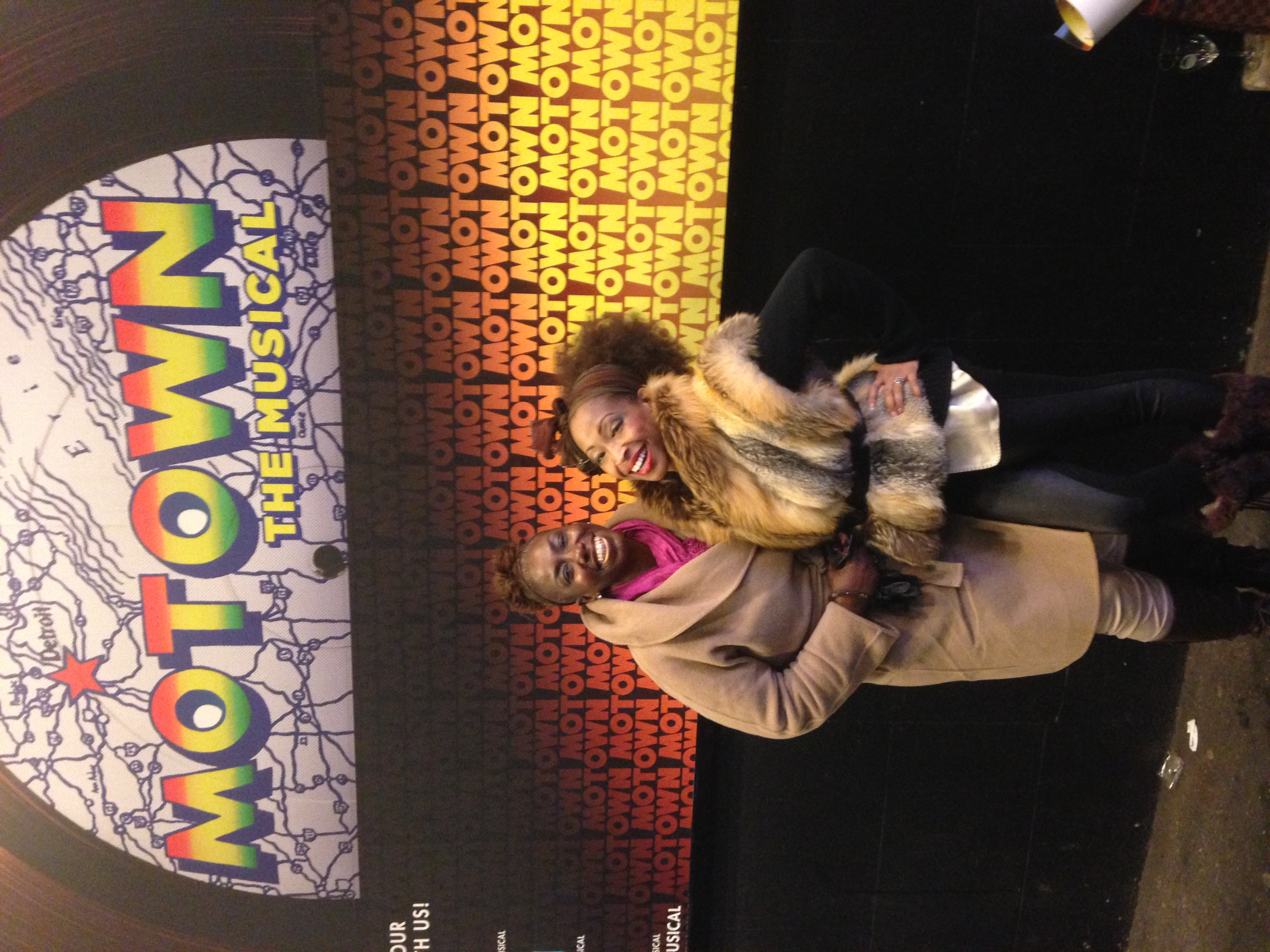Motown the Musical starring my friend Nkenge