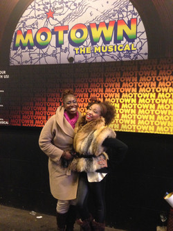 Motown the Musical starring my friend Nkenge