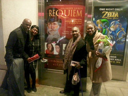 With my family after Verdi Requiem