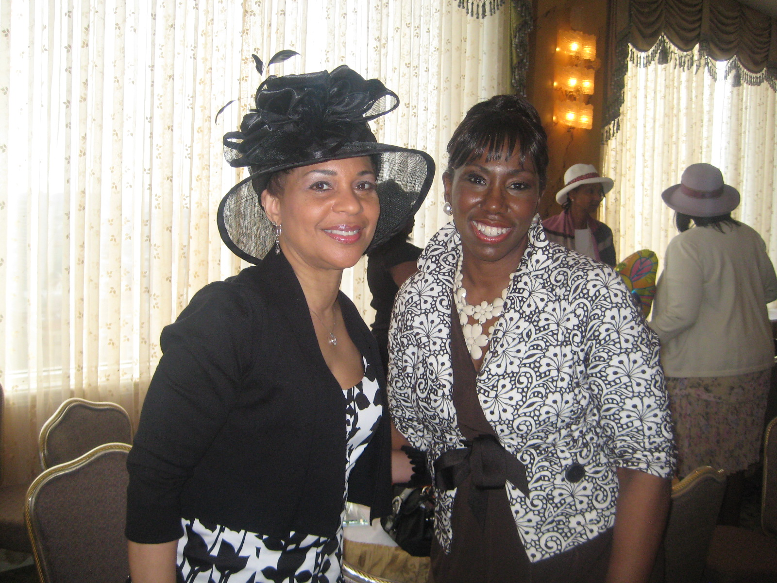 Renel Brooks-Moon at 100 Black Women Hats and Gloves Tea