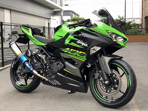 Ninja400 ストリートボディワーク