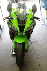 Ninja ZX-10R ラピッドバイク取付