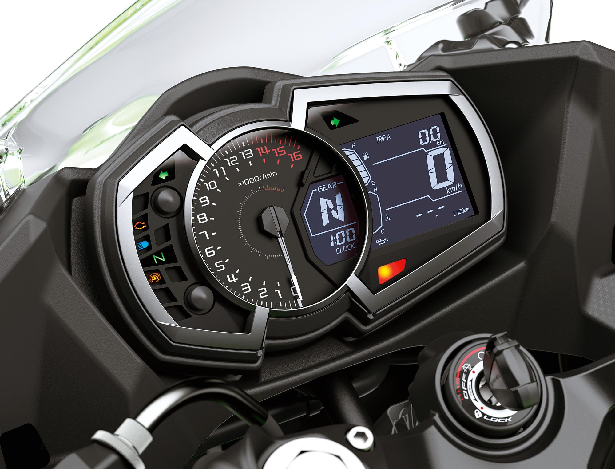 シフトチェンジの確実性を高めるギヤポジションインジケーター