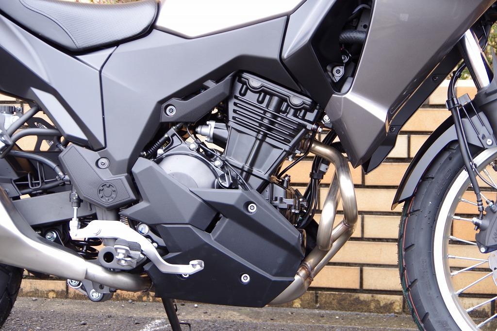 ・低速での粘り強さとスムーズな加速性能を併せ持つパラレルツインエンジン