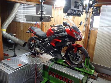 Ninja650 ラピッドバイク セッティング