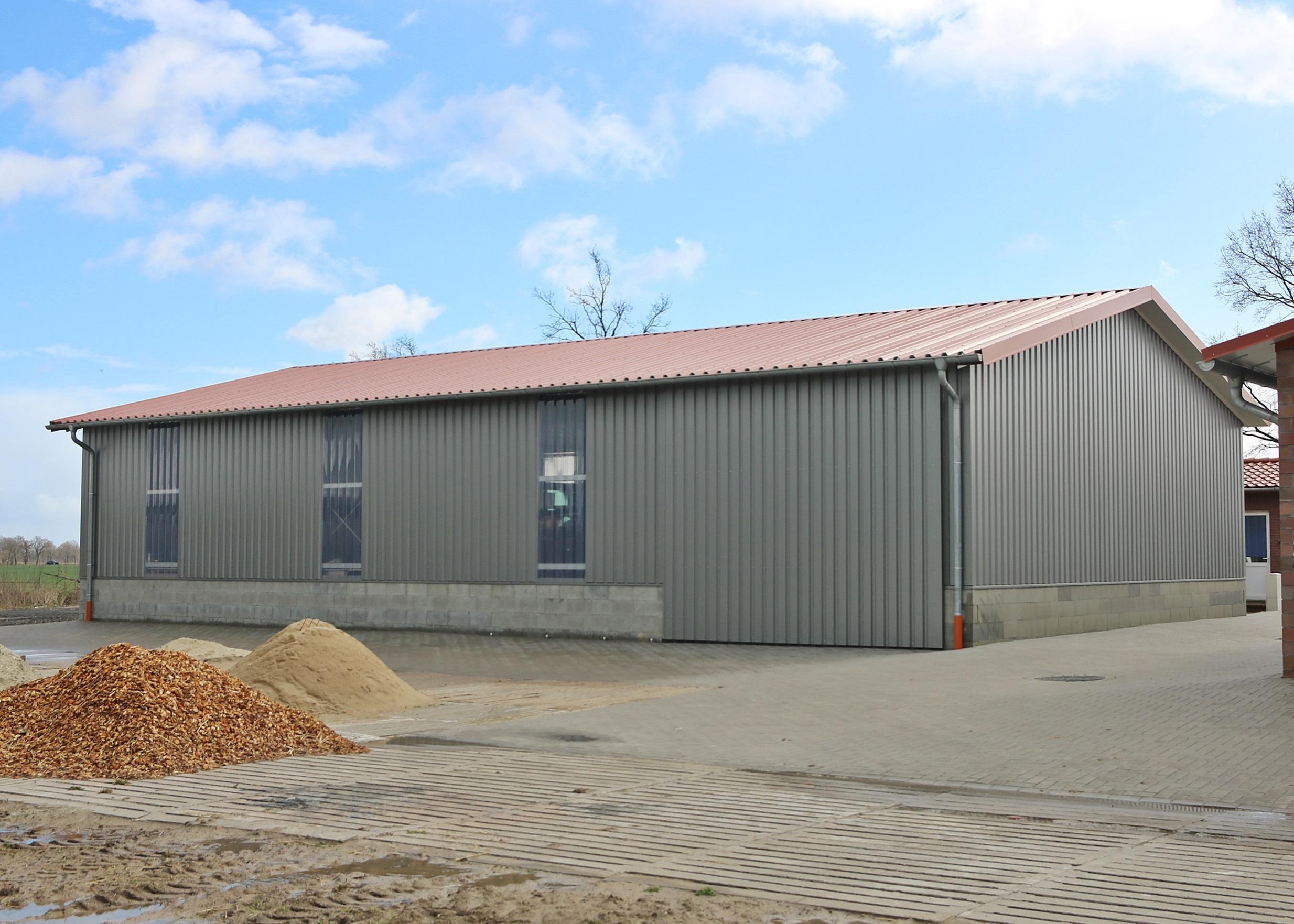 Die neue Maschinenhalle