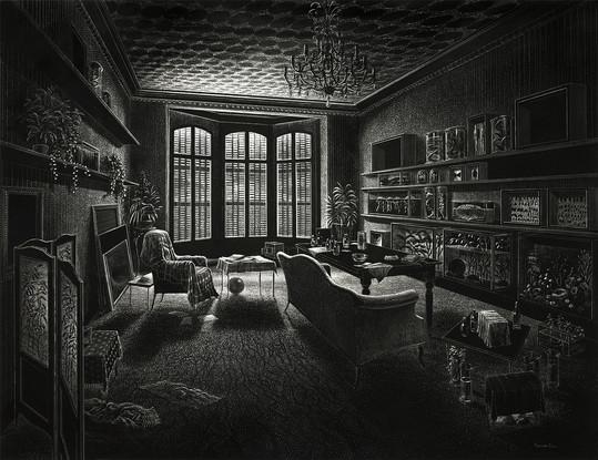 grand intérieur noir