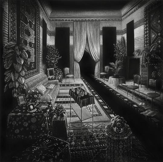 intérieur noir