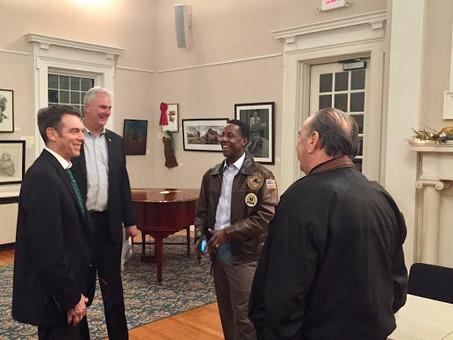 Setti Warren Visits the PDTC