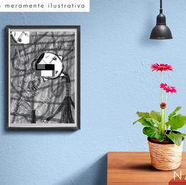 "CÓD. #P10 - Print ""mesa pra um"""