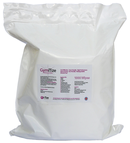 GymiTize Refill Pouch (1000 wipes)
