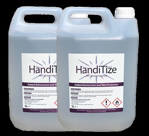 HandiTize Hand Sanitiser (5ltr Tub X 2)