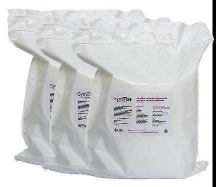 GymiTize 3 X 1000 Wipe Refill Packs (3000 Wipes)