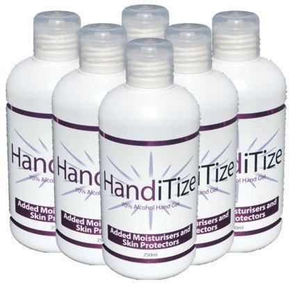HandiTize Hand Sanitiser 250ml Pack of 6