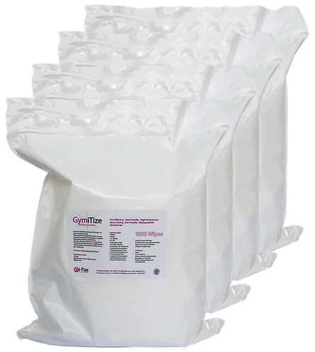 GymiTize 4000 wipe Refill Case