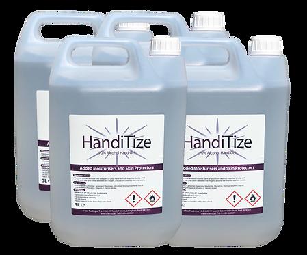 HandiTize Hand Sanitiser (5ltr Tub X 4)