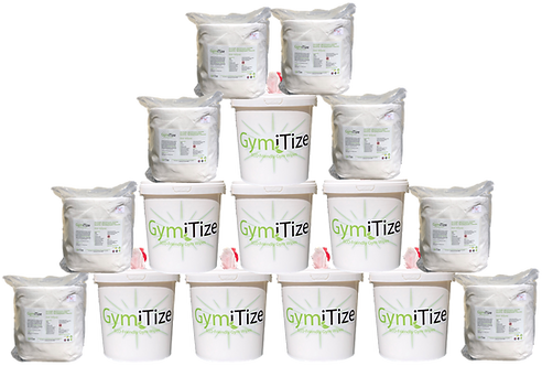GymiTize ECO Mega Pack (8x Buckets 8x Refill Packs, 8000 wipes)