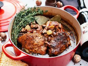 Chef Alejandro Buzzalino's Coq au Vin