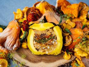 Fall Stuffed Pumpkin or Squash